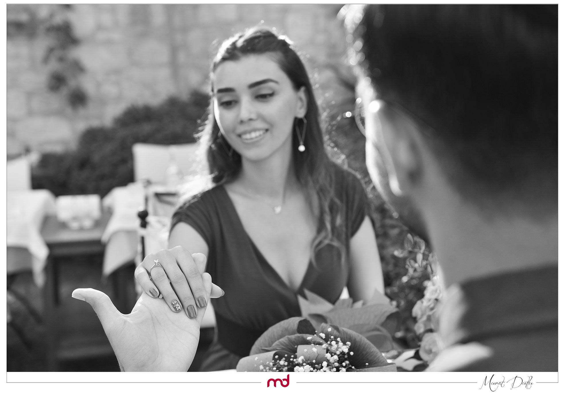 alaçatı evlilik teklifli fotoğraf çekimi