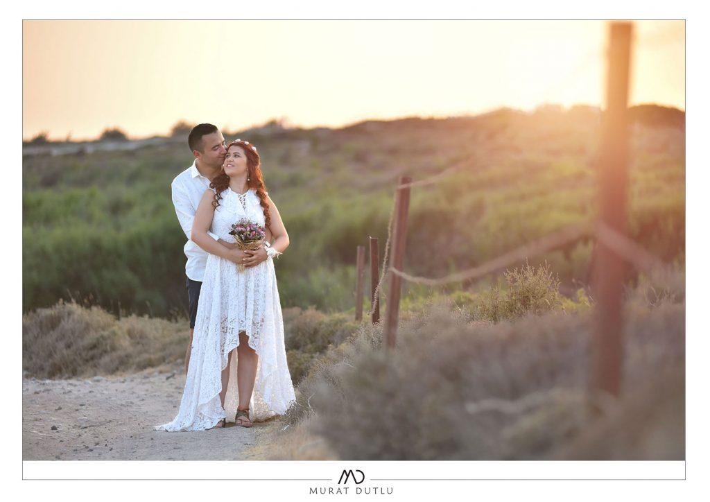 Alaçatı dış çekim düğün fotoğrafçısı