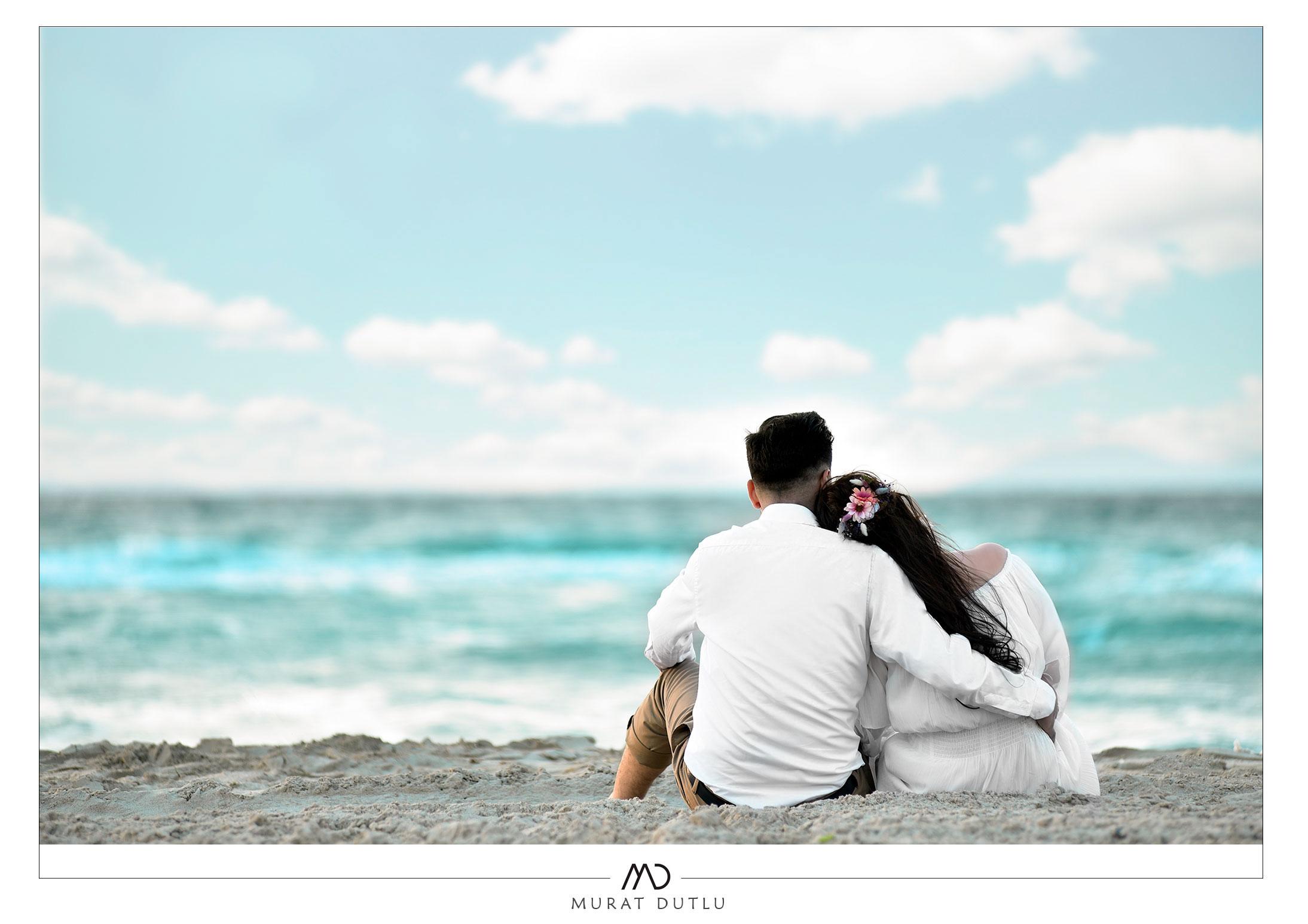 Alaçatı düğün fotoğraf çekimi sahil