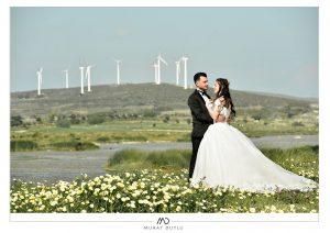 Alaçatı dış çekim düğün fotoğrafları