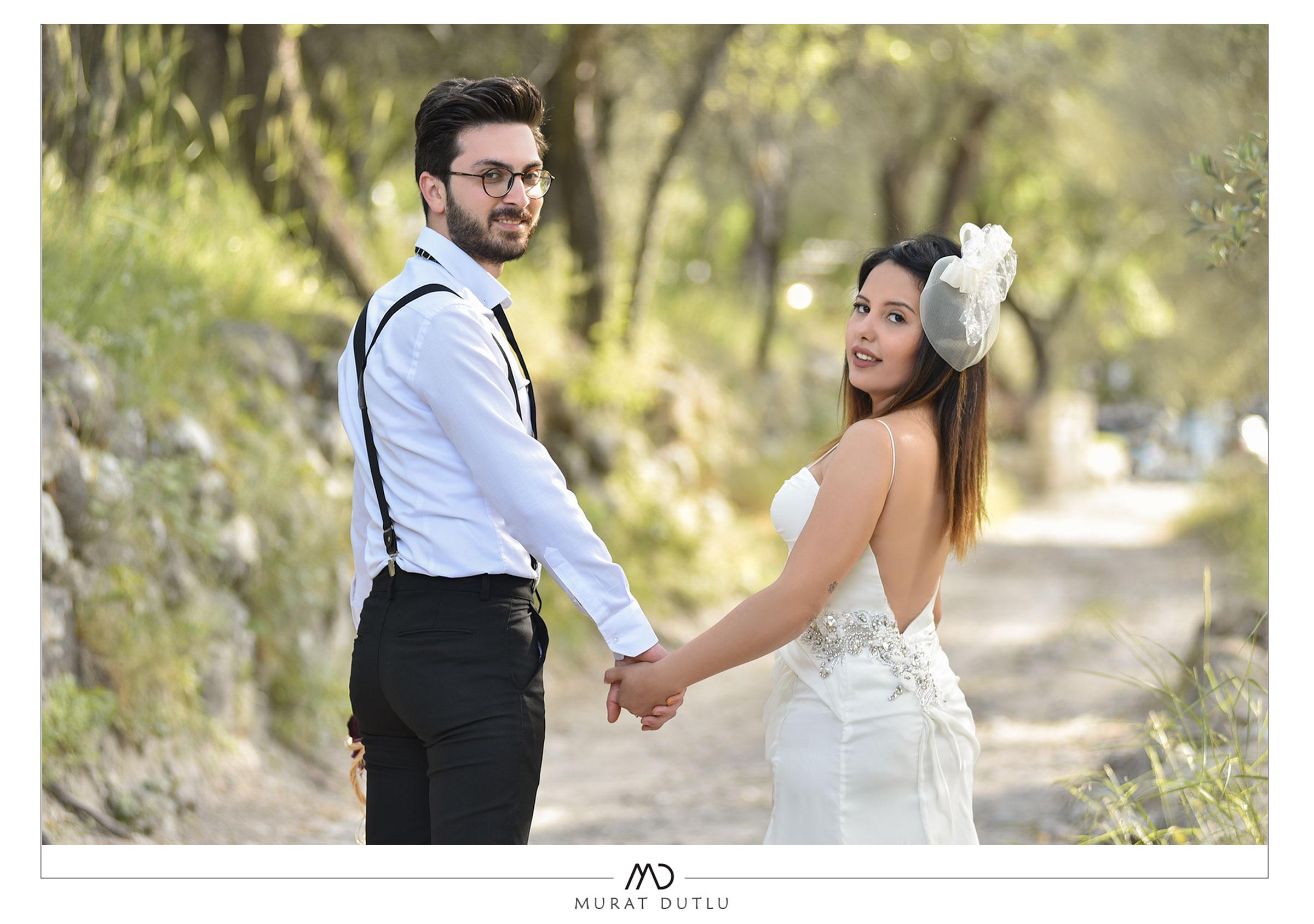 Alaçatı düğün dış çekim fotoğrafçı