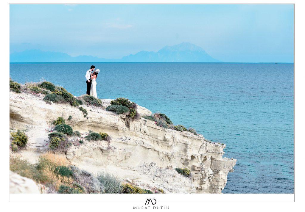 delikli koy düğün fotoğrafı çekimi, Alaçatı düğün fotoğrafçısı