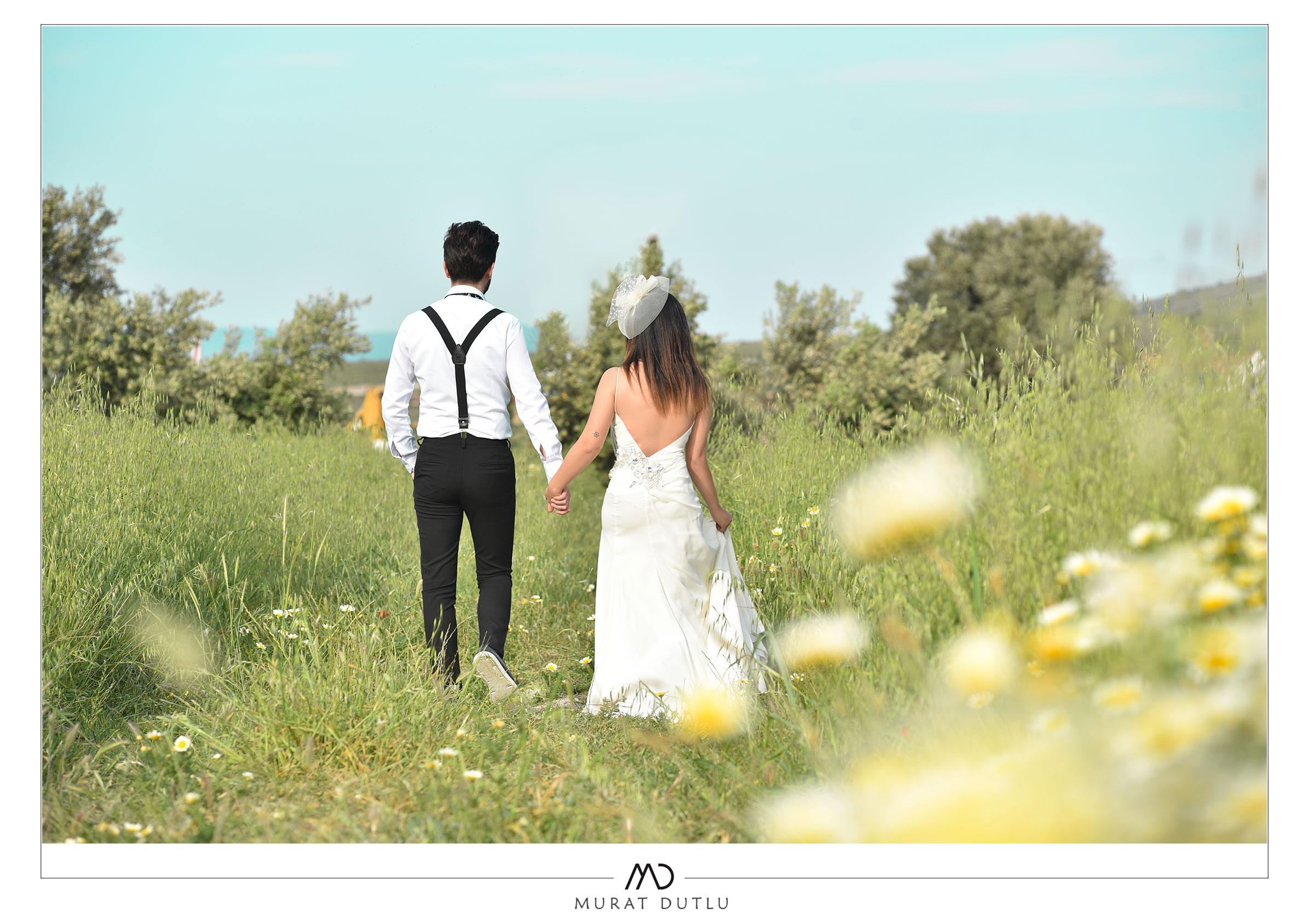 Dış çekim düğün fotoğrafçısı