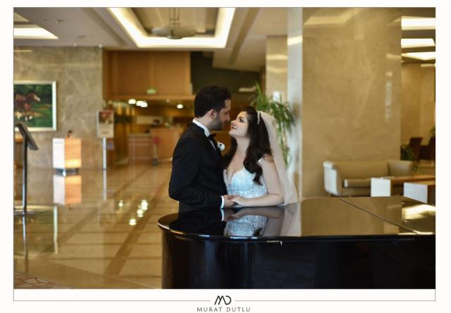 İzmir dış çekim düğün fotoğrafçısı, otelde düğün fotoğraf çekimi İzmir