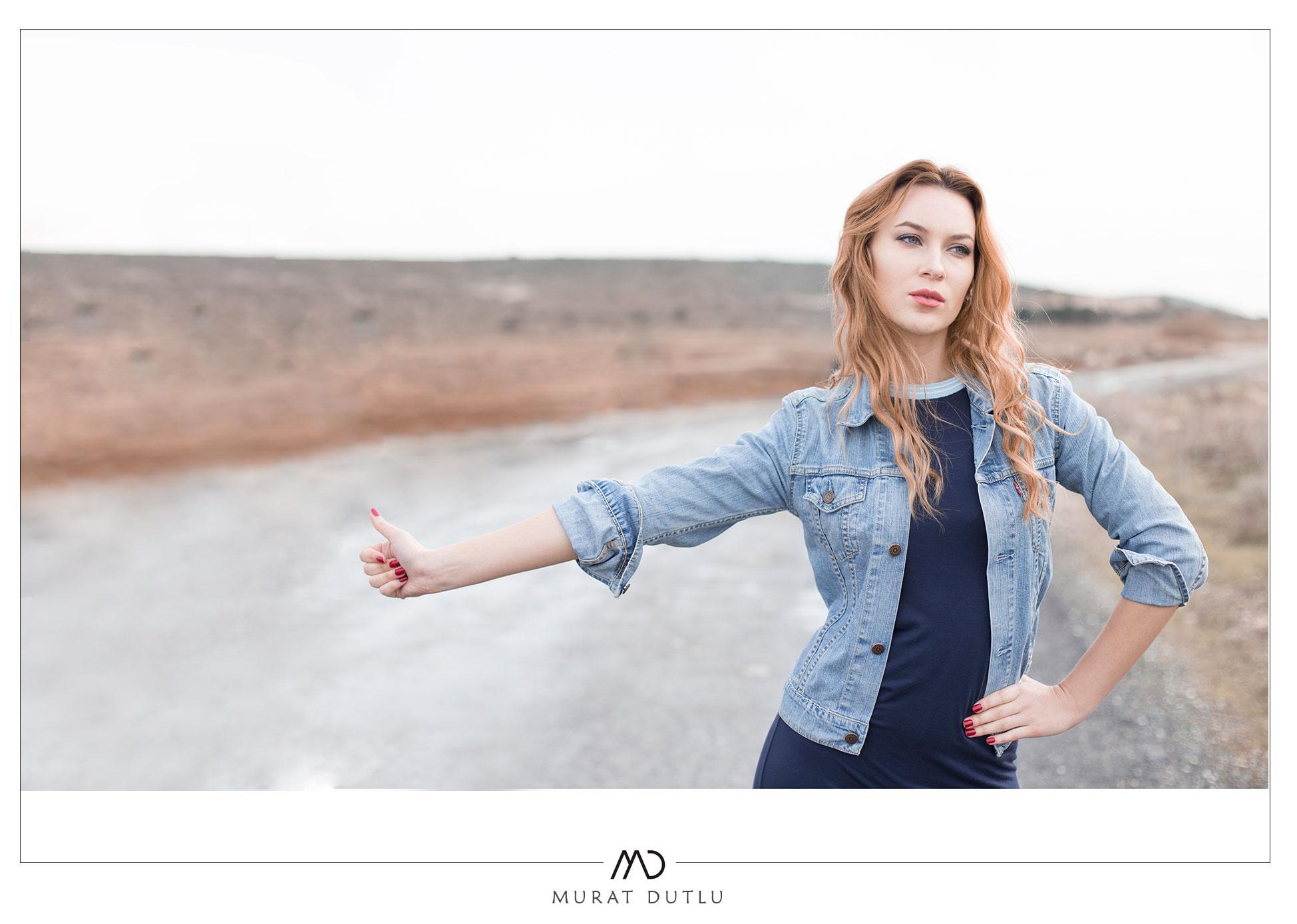 Model kişisel fotoğraf çekimi izmir