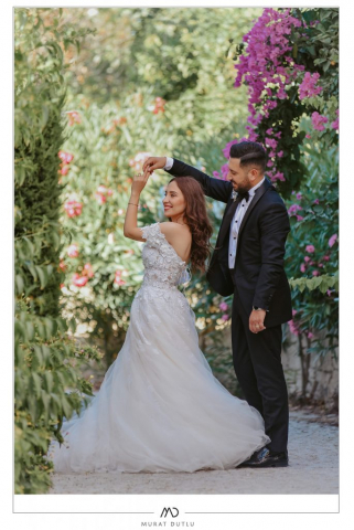 Alaçatı düğün fotoğrafçısı Murat Dutlu Dış çekim düğün fotoğrafçısı İzmir