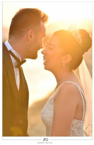 İzmir gelin damat dış çekim düğün fotoğrafçısı