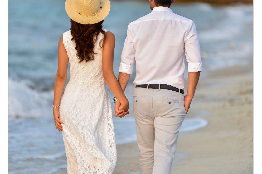 İzmir plaj gelin damat fotoğrafları, düğün fotoğrafçısı İzmir