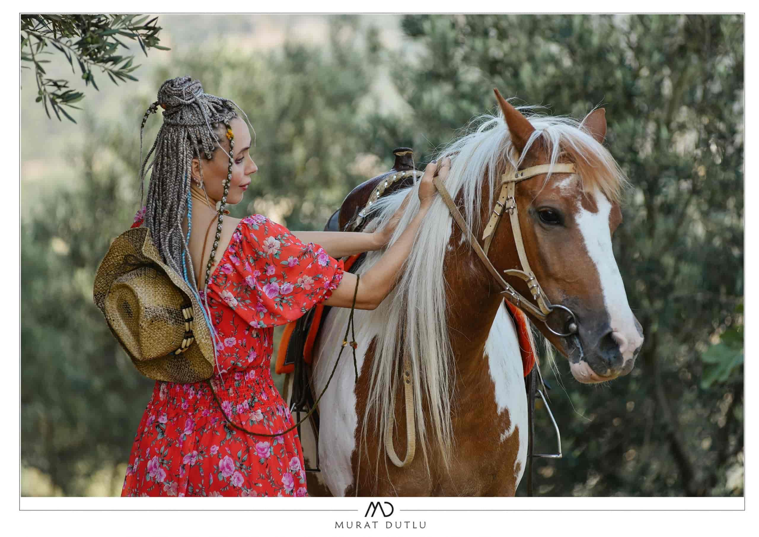 İzmir atlı gelin fotoğrafları, Atlı fotoğraf çekimi İzmir